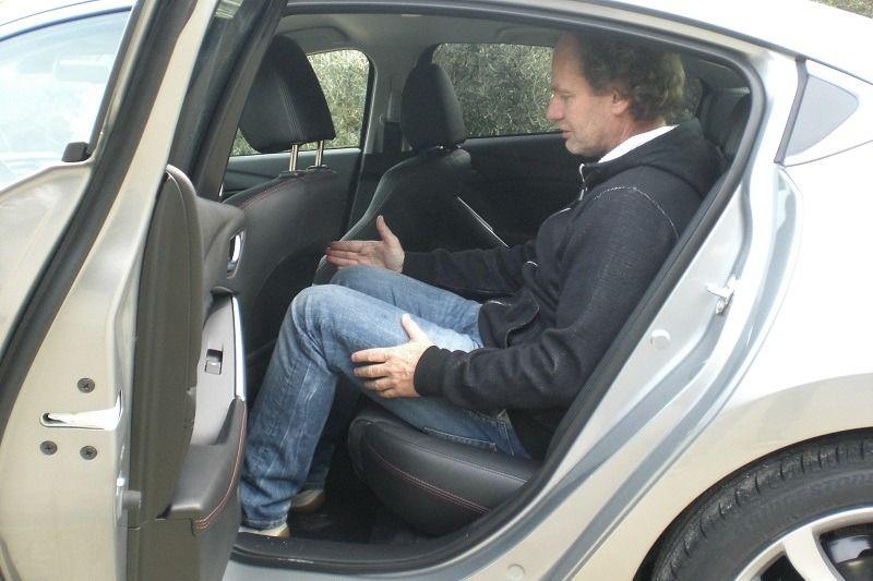 Mazda 6 Fußraum