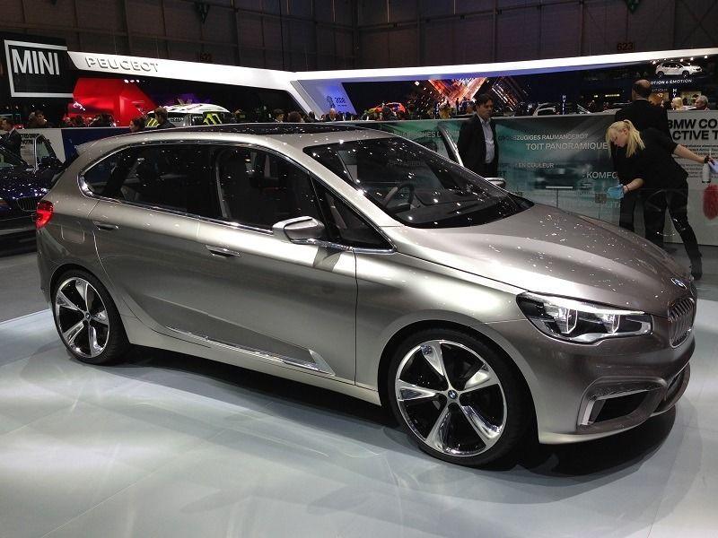 """Das """"Active Tourer"""" Concept von BMW sieht schon sehr seriennah aus"""