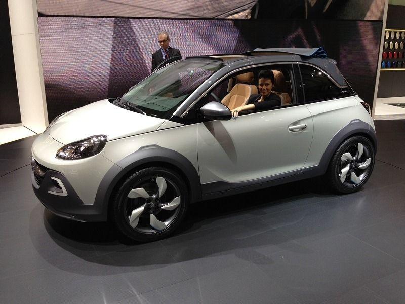 Opel - Bringt den Adam wohl bald schon in dieser geöffneten Version