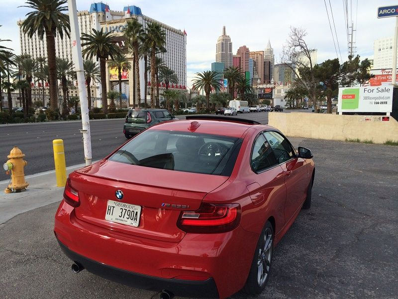 2er hinten Las Vegas