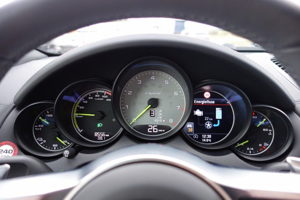 Cayenne S E-Hybrid - Kombiinstrument