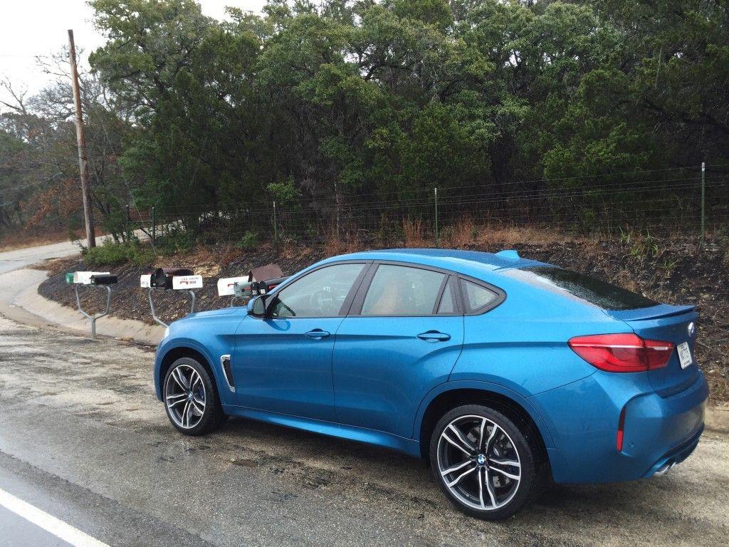 BMW X6 M 2015 Hinten Seite
