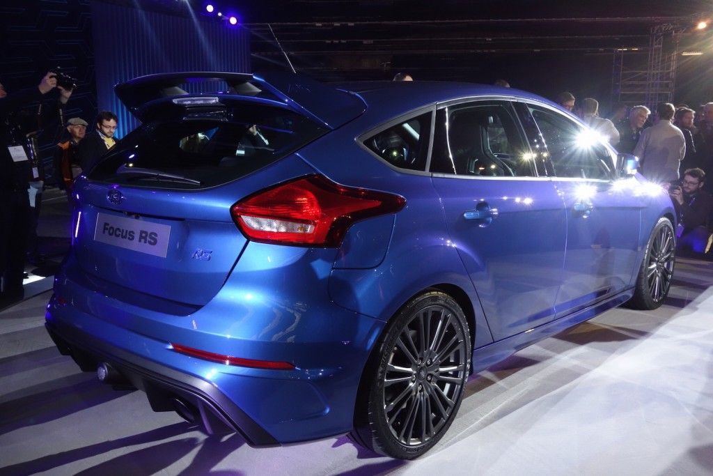 Ford Focus RS 2015 Heck