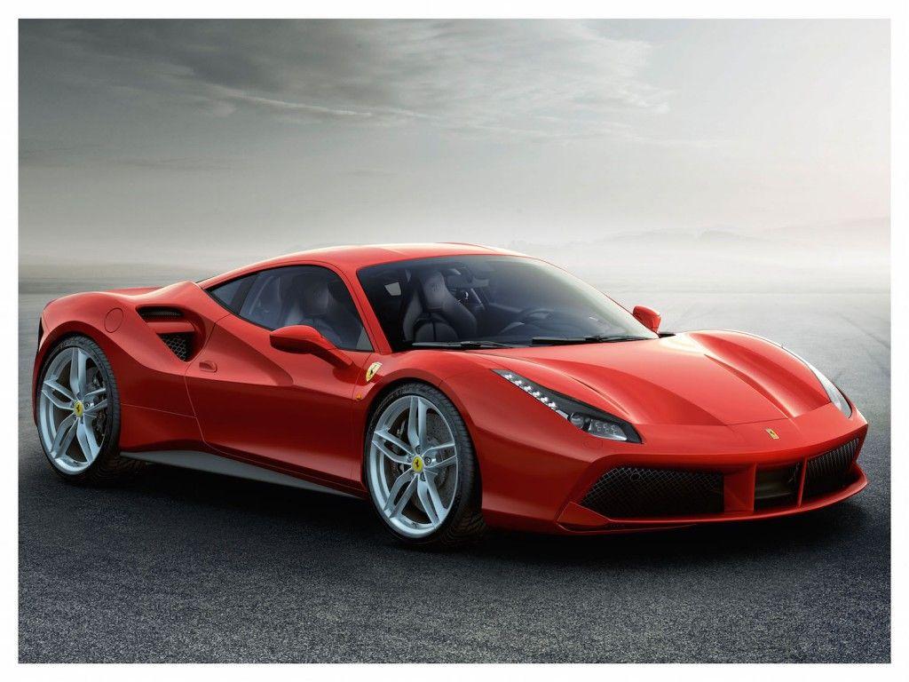 Ferrari 488 GTB Vorne Seite