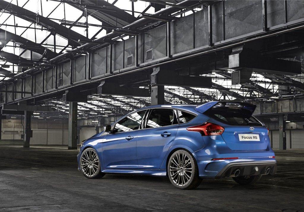 Ford Focus RS 2015 Hinten Seite