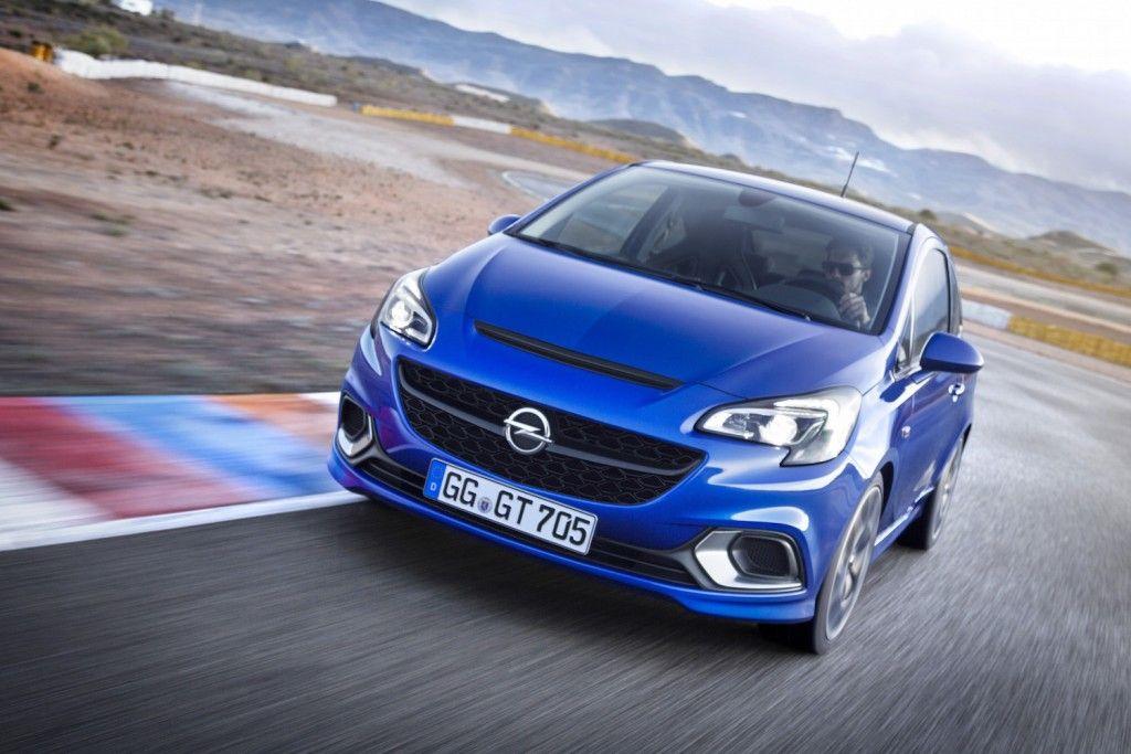 Opel Corsa OPC 2015 Vorne Seite