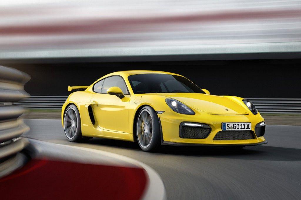 Porsche GT4 Vorne Seite
