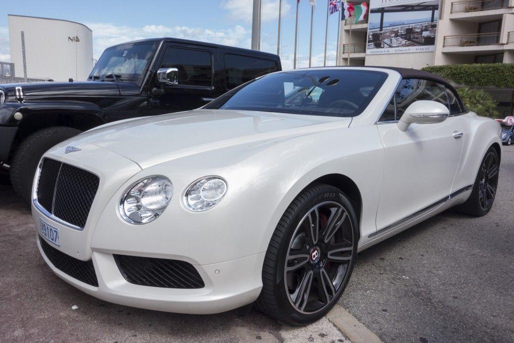 Bentley GTC in Monaco