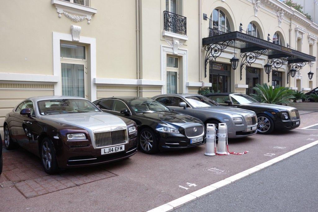 Drei Rolls Royce