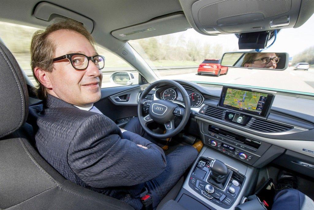 die Technologie des pilotierten Fahrens  Audi