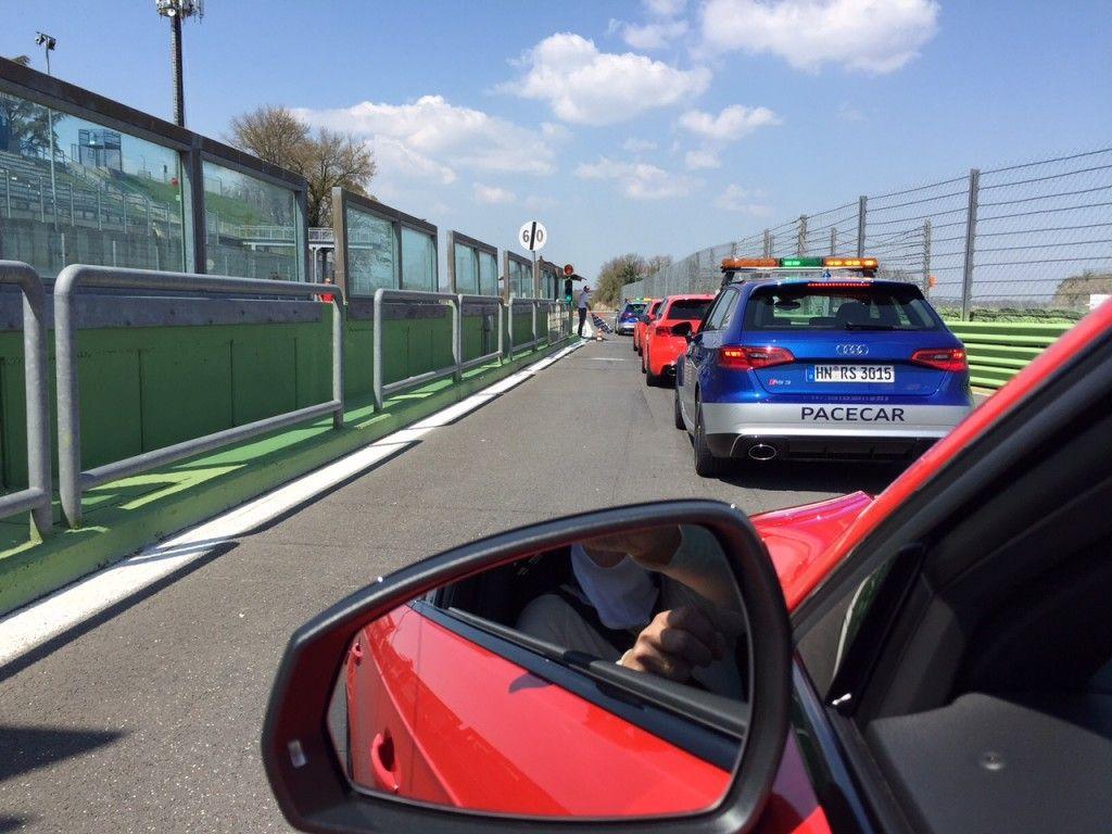 Audi RS3 Rennstrecke