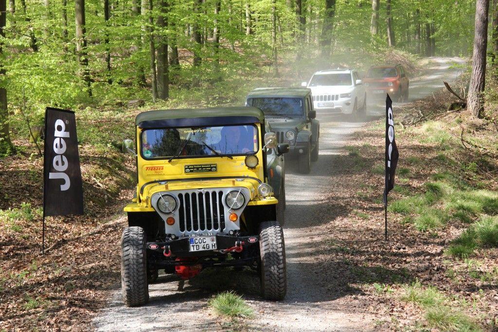 Jeep Modelle im Gelände
