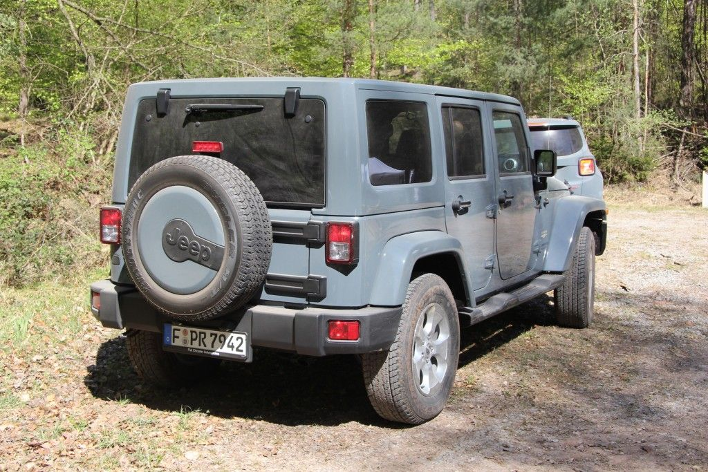 Jeep Wrangler Unlimited Heck