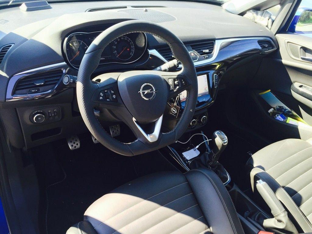 Opel Corsa OPC lenkrad