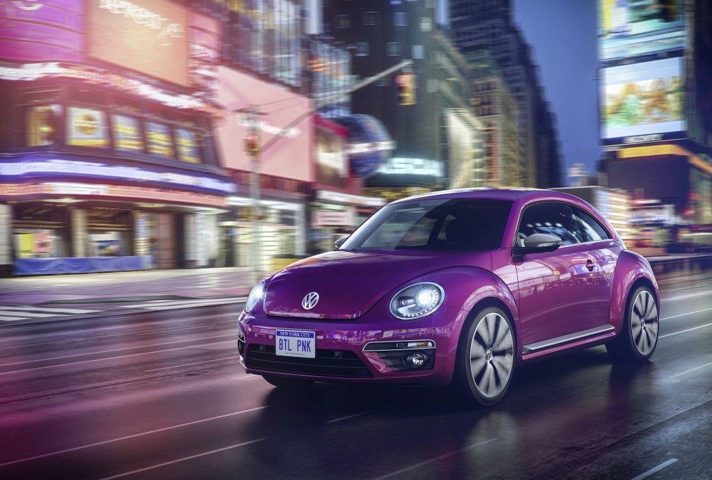Volkswagen Studie Beetle Pink Edition