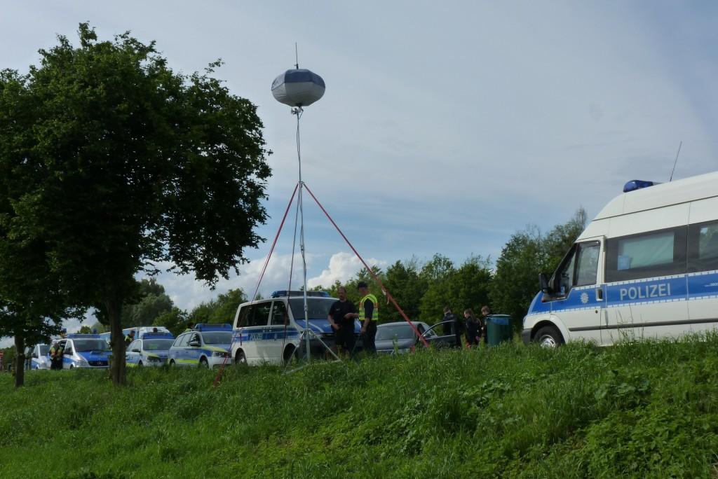 Polizeikontrolle in der Ortenau
