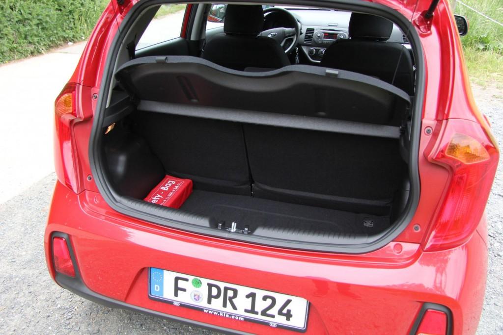 Kia Picanto Edition 7 Kofferraum