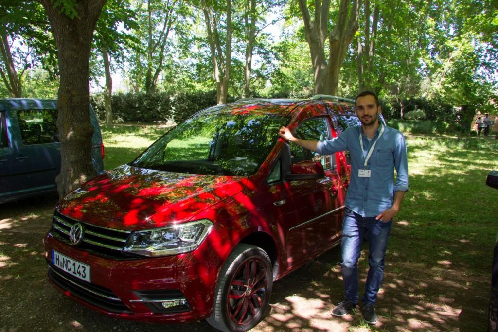 VW Caddy 2015 Bastian