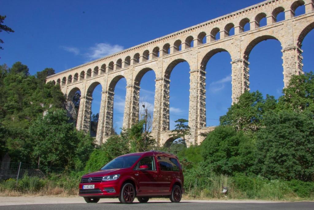 VW Caddy 2015 Brücke