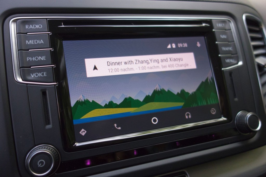 VW Sharan 2015 Android Auto