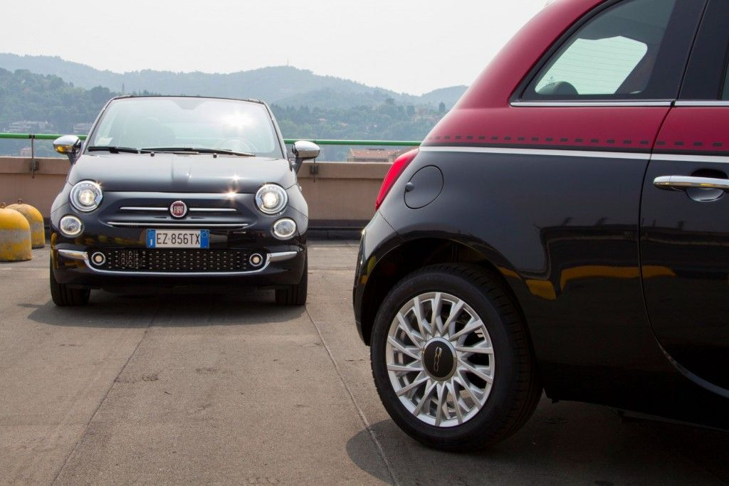 Fiat 500 und 500C 2015 Teststrecke Lingotto