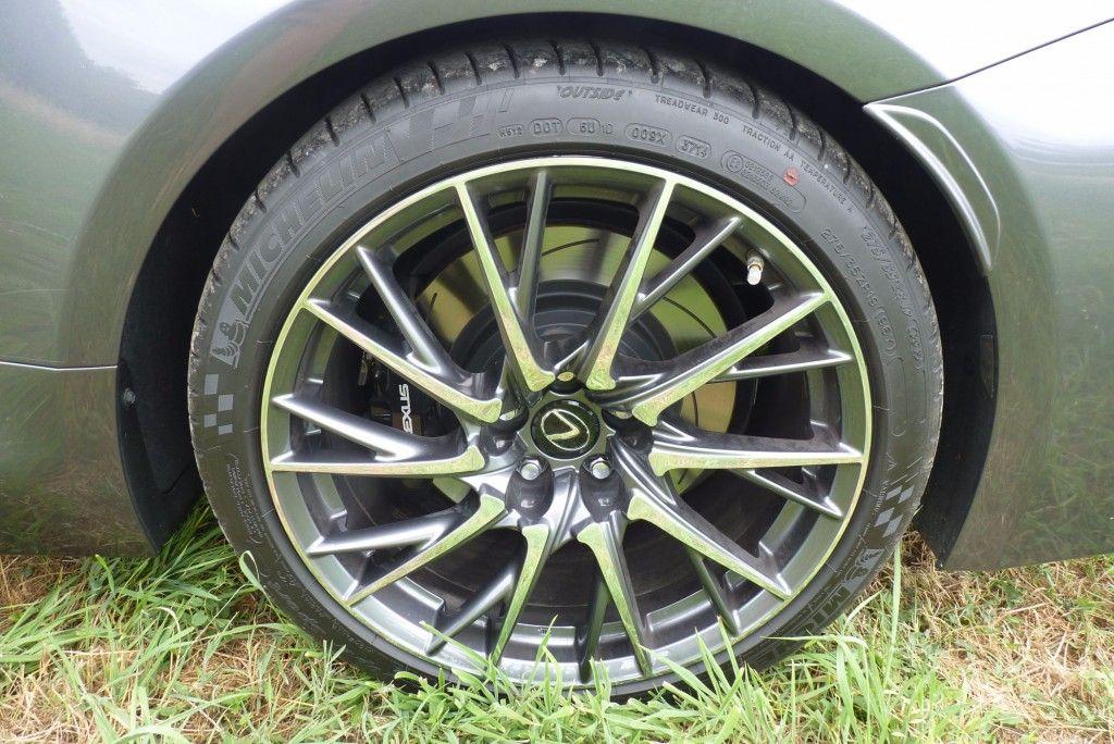Lexus RC-F Felge 2015