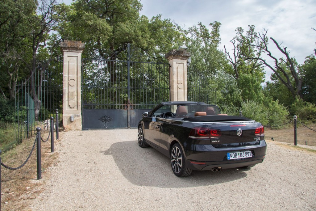 VW Golf Cabrio 2015 Heck Provence
