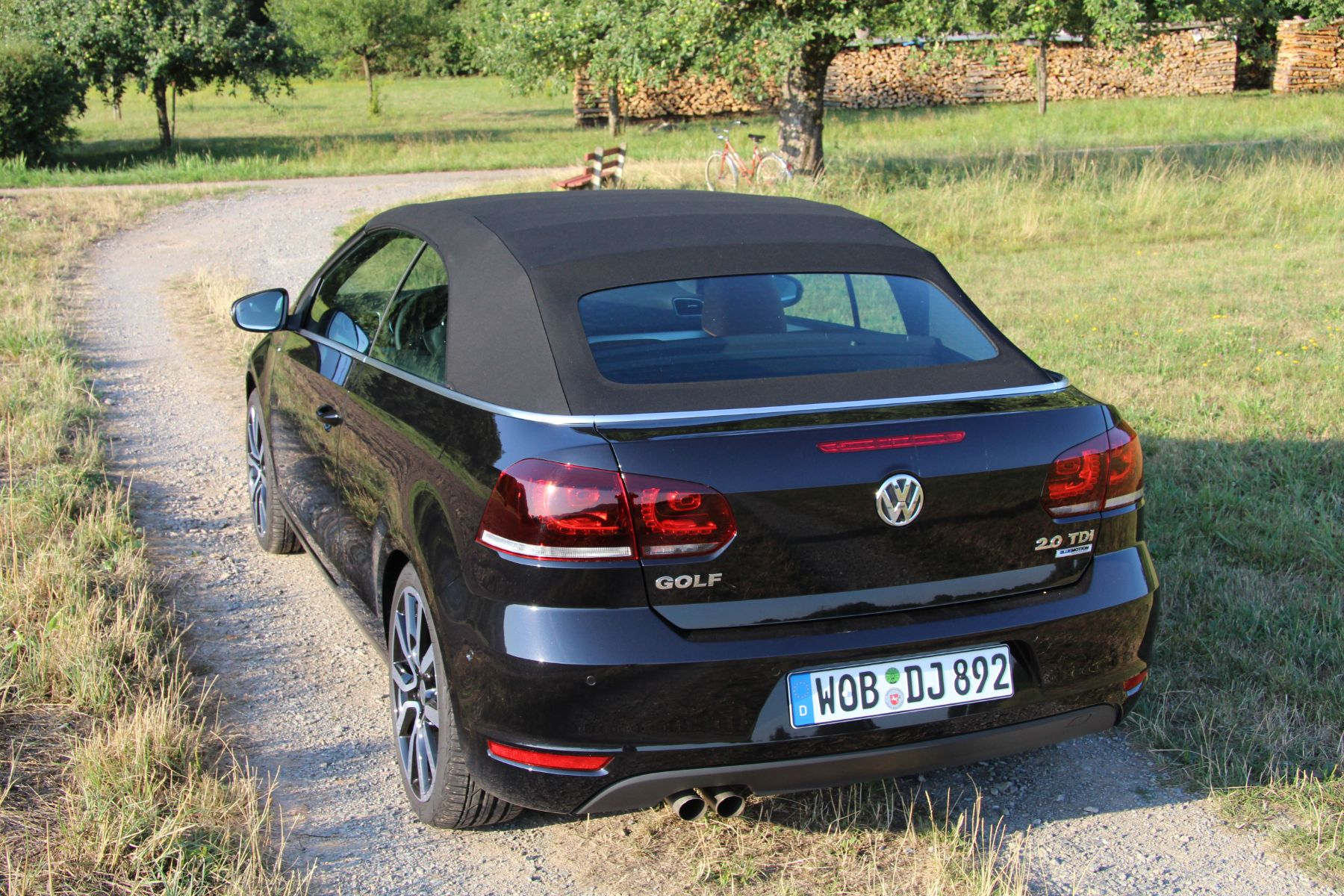 vw golf cabrio der offene volkswagen der. Black Bedroom Furniture Sets. Home Design Ideas