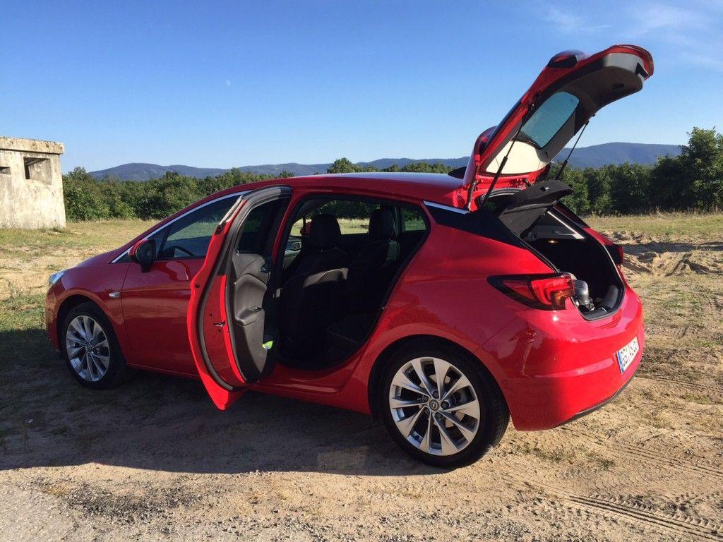 Opel Astra Rückbank