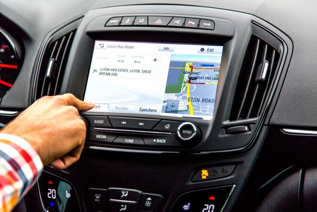 Opel OnStar 2015 Start Navigation Insignia