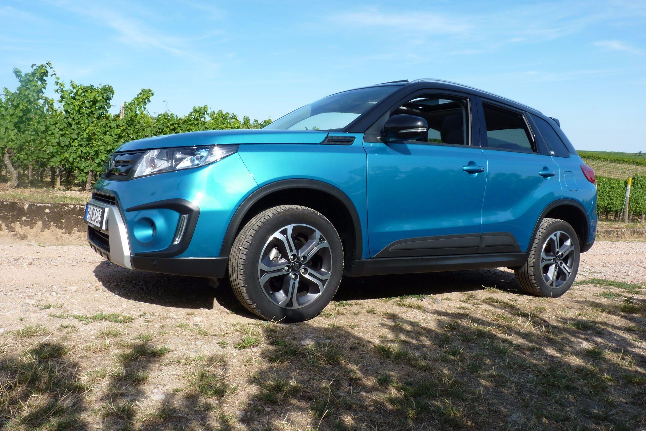 In Der Richtigen Farbe Weckt Suzuki Vitara Die Lust Auf