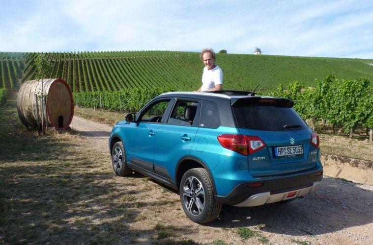 In Der Richtigen Farbe Weckt Suzuki Vitara Die Lust Auf Abenteuer Und Freiheit