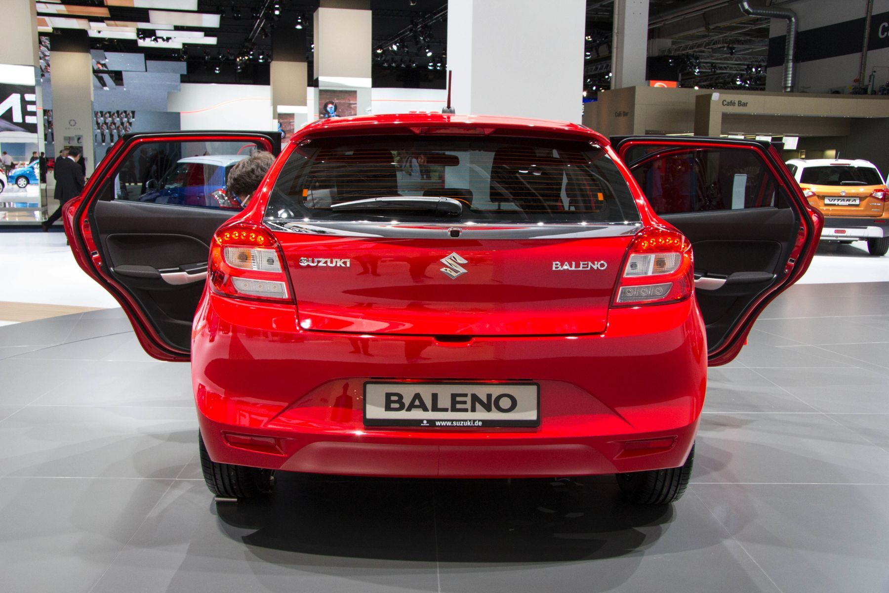 Suzuki Baleno 2015 Heck Kofferraum