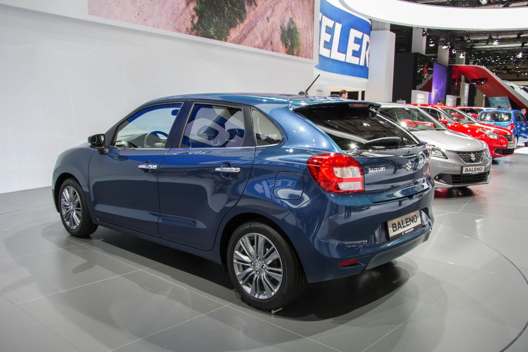 Suzuki Baleno 2015 Schragheck