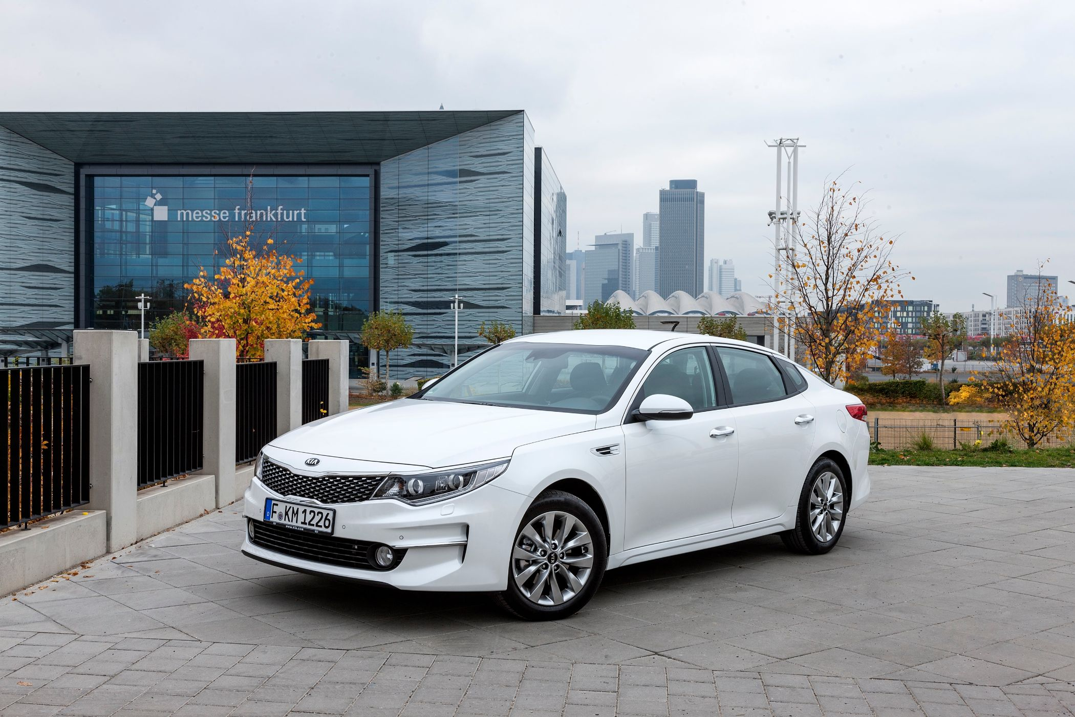 Kia Optima weiß
