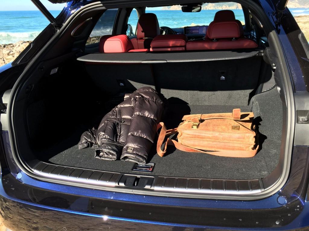 Lexus RX Kofferraum 2016
