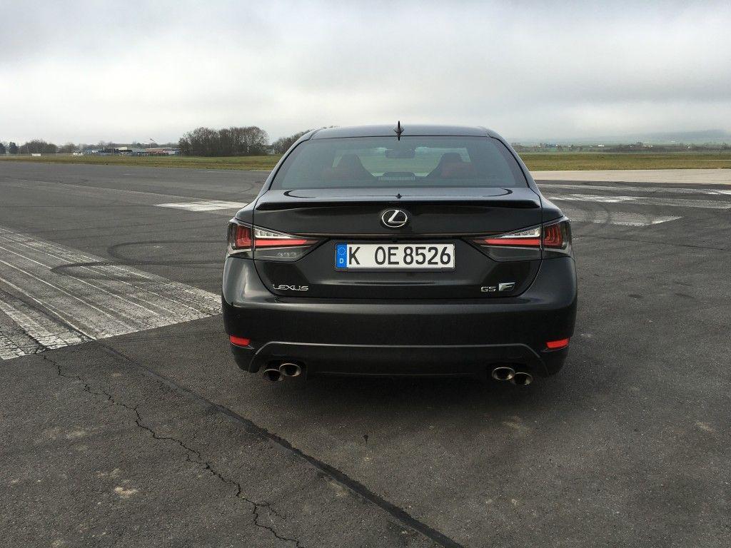 Lexus GS F Heck