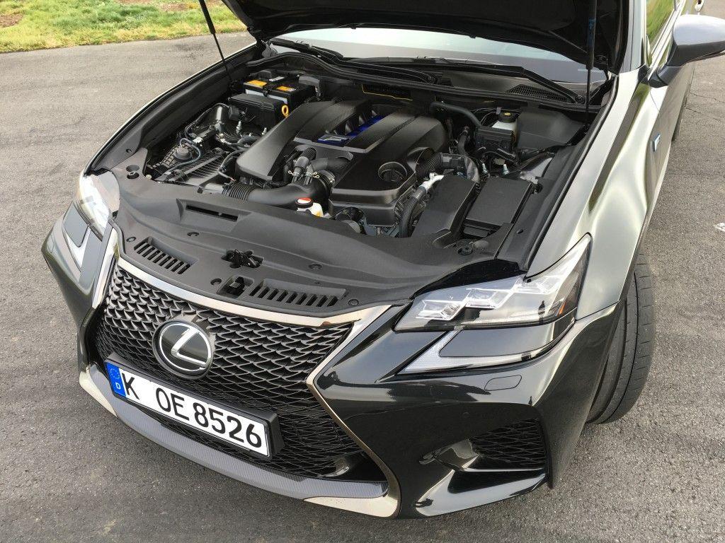 Lexus GS F Motor