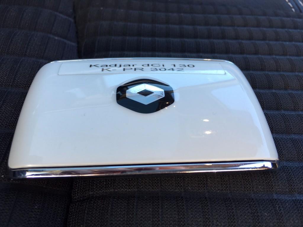 Renault Kadjar Schlüssel