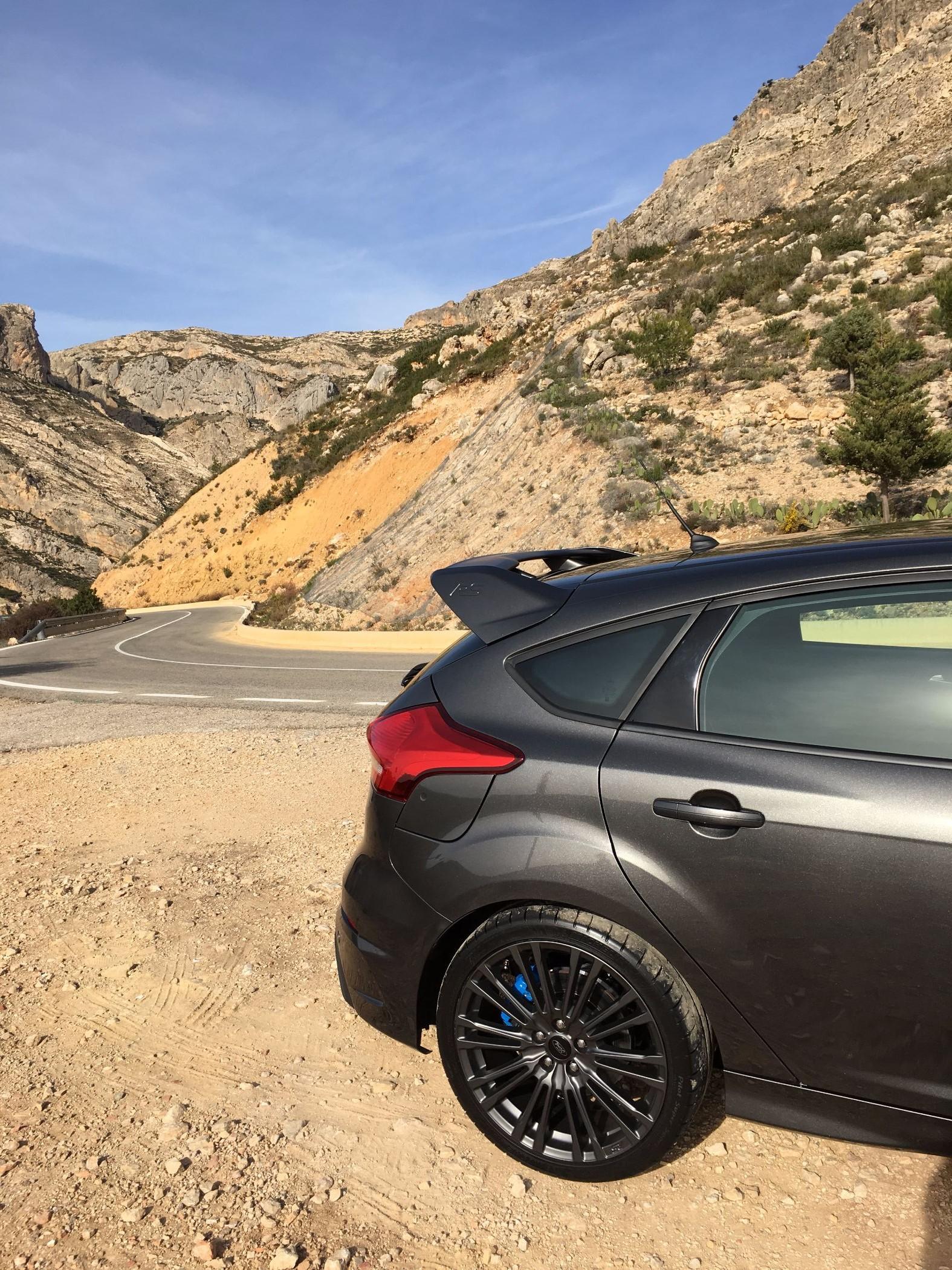 Ford Focus RS Heck und Felge 2016