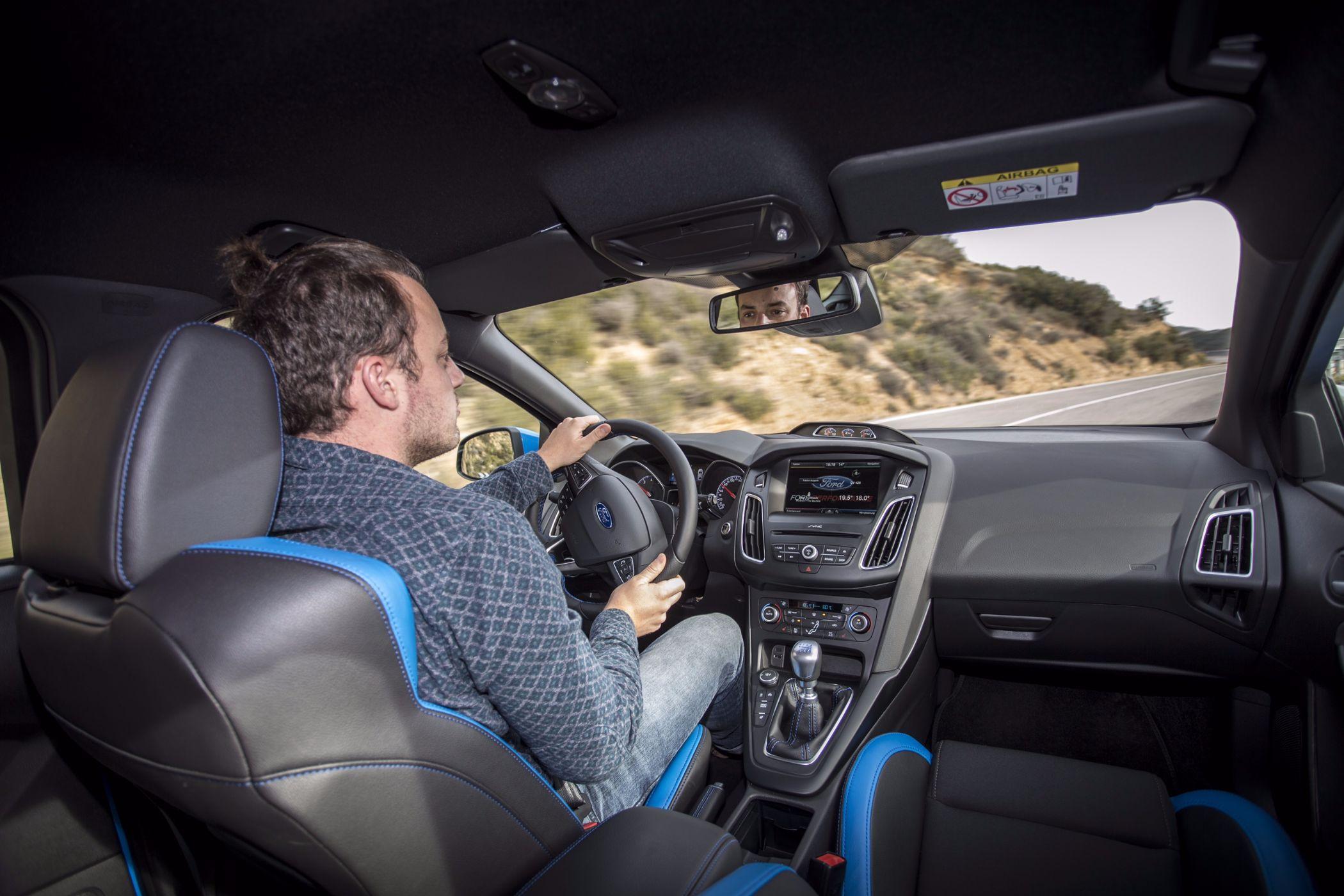 Ford Focus RS Fahrspaß 2016