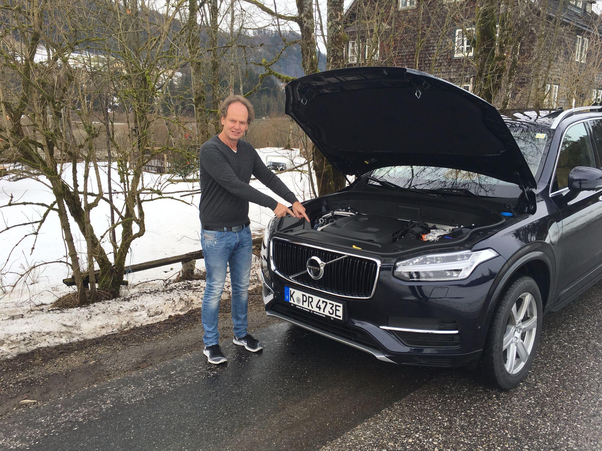 Volvo XC90 Motorraum