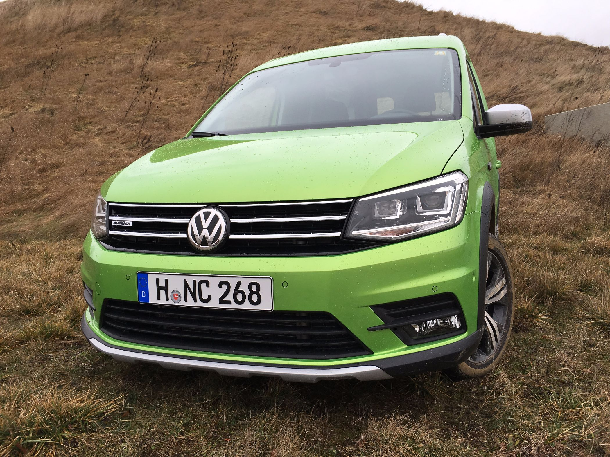 Volkswagen Caddy Alltrack Front 2016