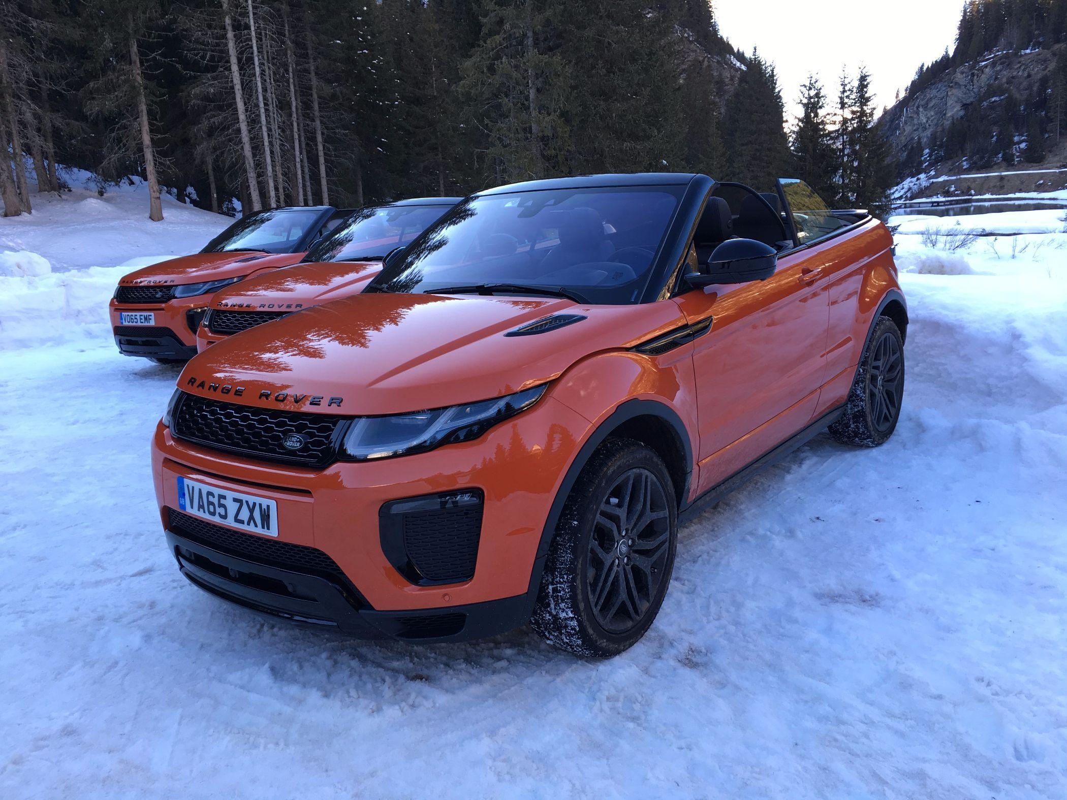 Range Rover Evoque Cabrios