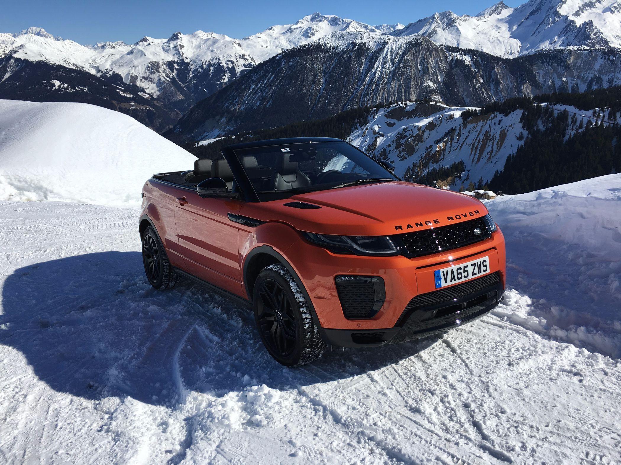 Range Rover Evoque Cabrio Heck