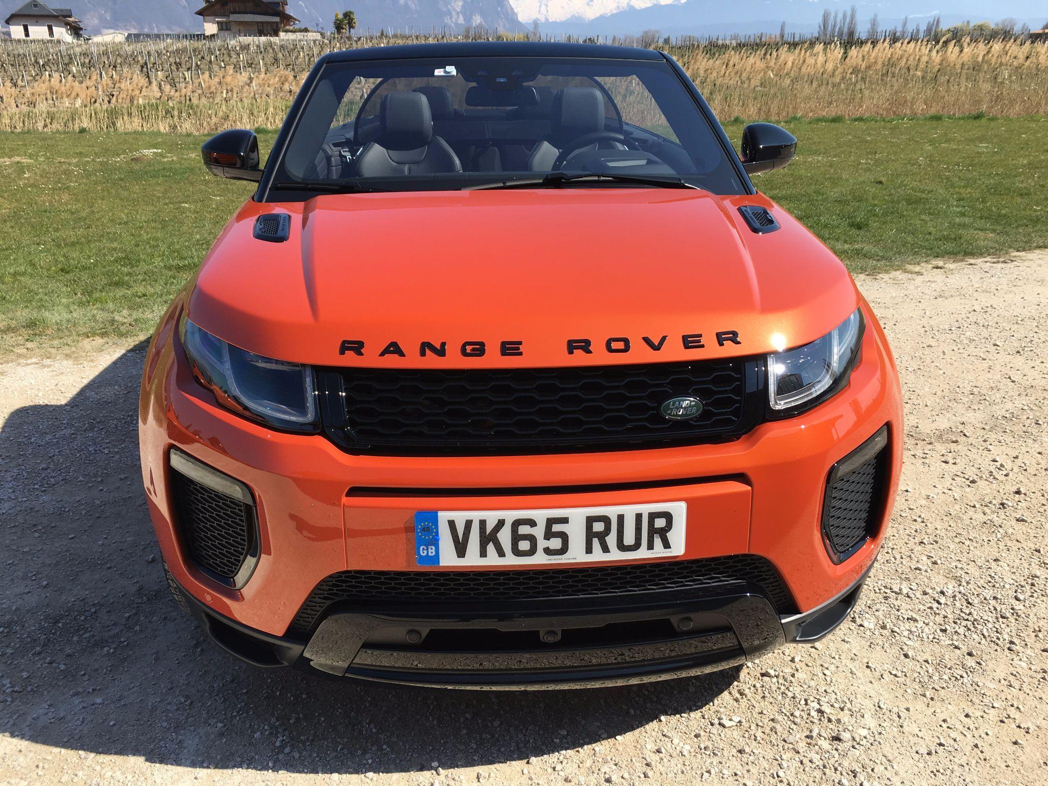 Range Rover Evoque Cabrio Front