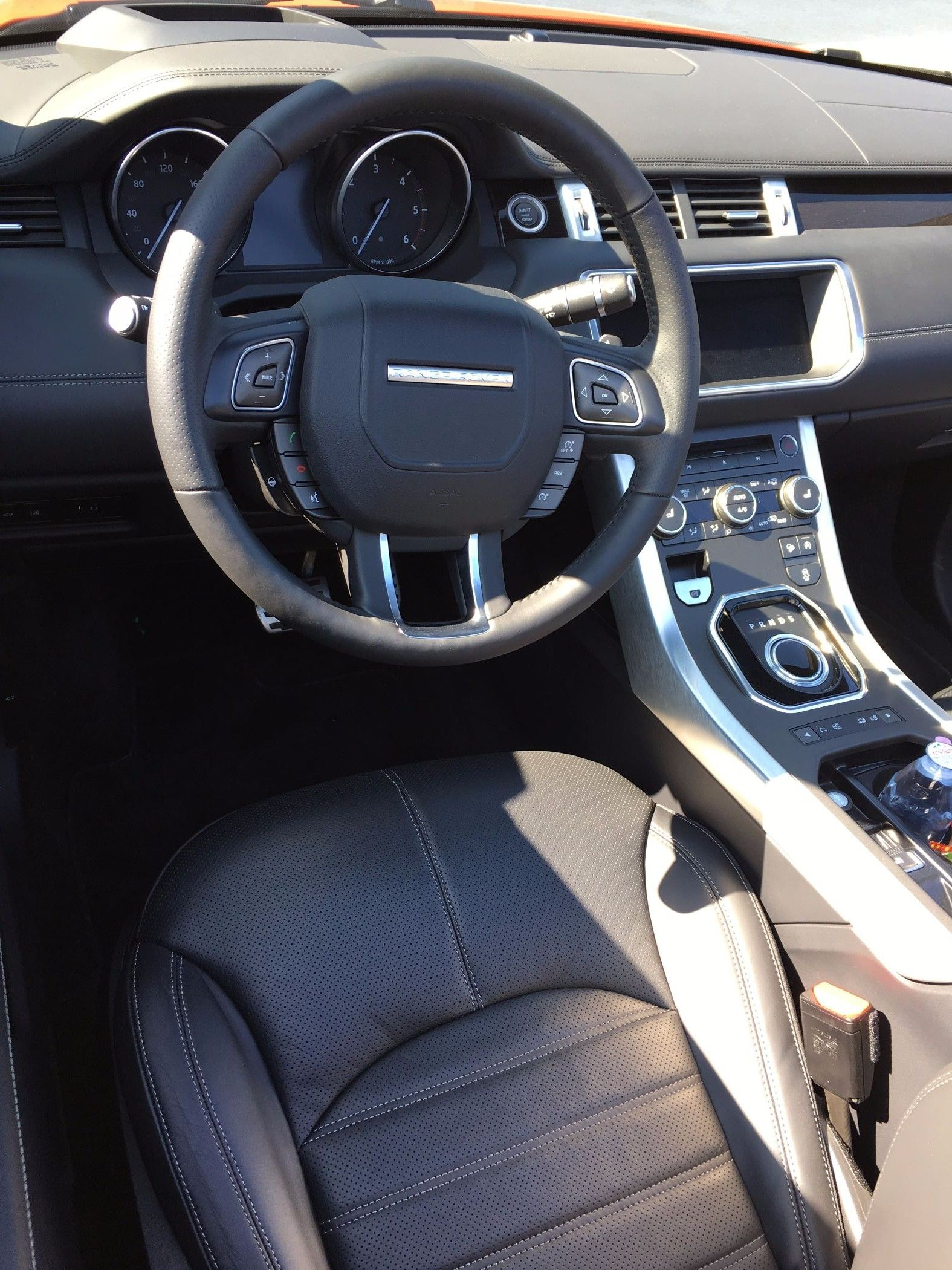 Range Rover Evoque Cabrio Innenraum
