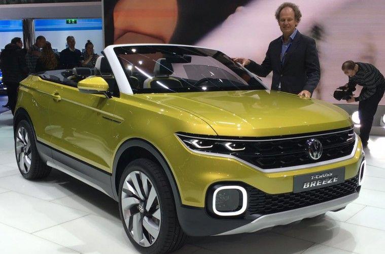 Für mich eine der positiven Überraschungen auf dem Salon: Das offene SUV Concept auf Polo Basis
