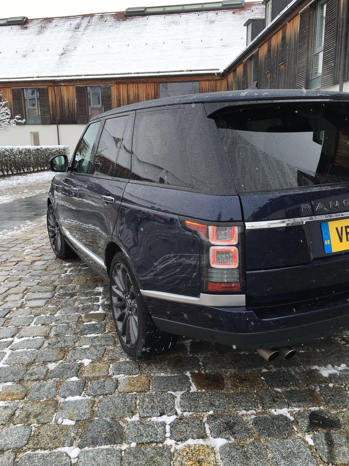 Range Rover SVAutobiography Rückleuchte