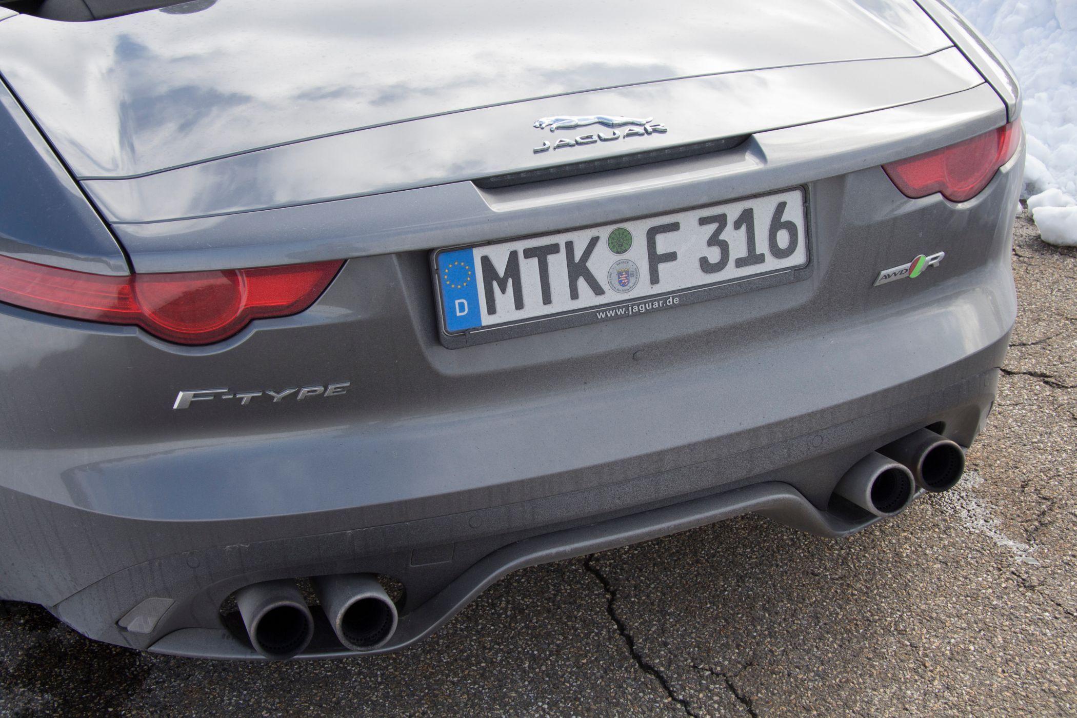 Jaguar F-Type R Auspfuff